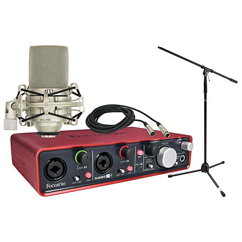 Focusrite Scarlett 2i4 Package thumbnail