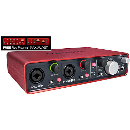 Focusrite Scarlett 2i4 USB Audio Interface thumbnail