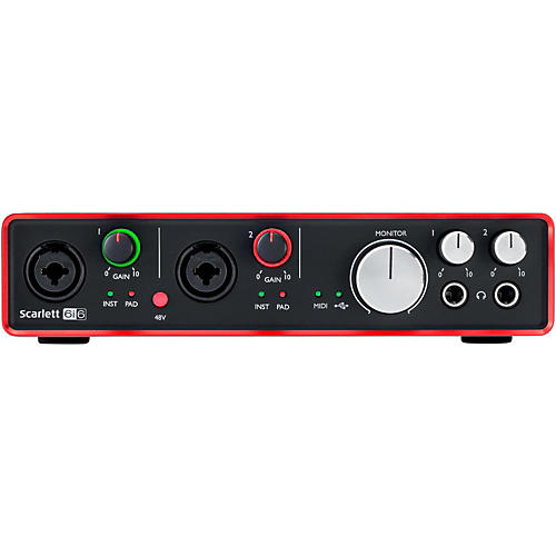 Focusrite Scarlett 6i6 (2nd Gen) USB Audio Interface thumbnail