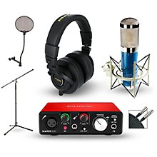 Focusrite Scarlett Solo Recording Package with MXL 4000 and Marantz MPH-2