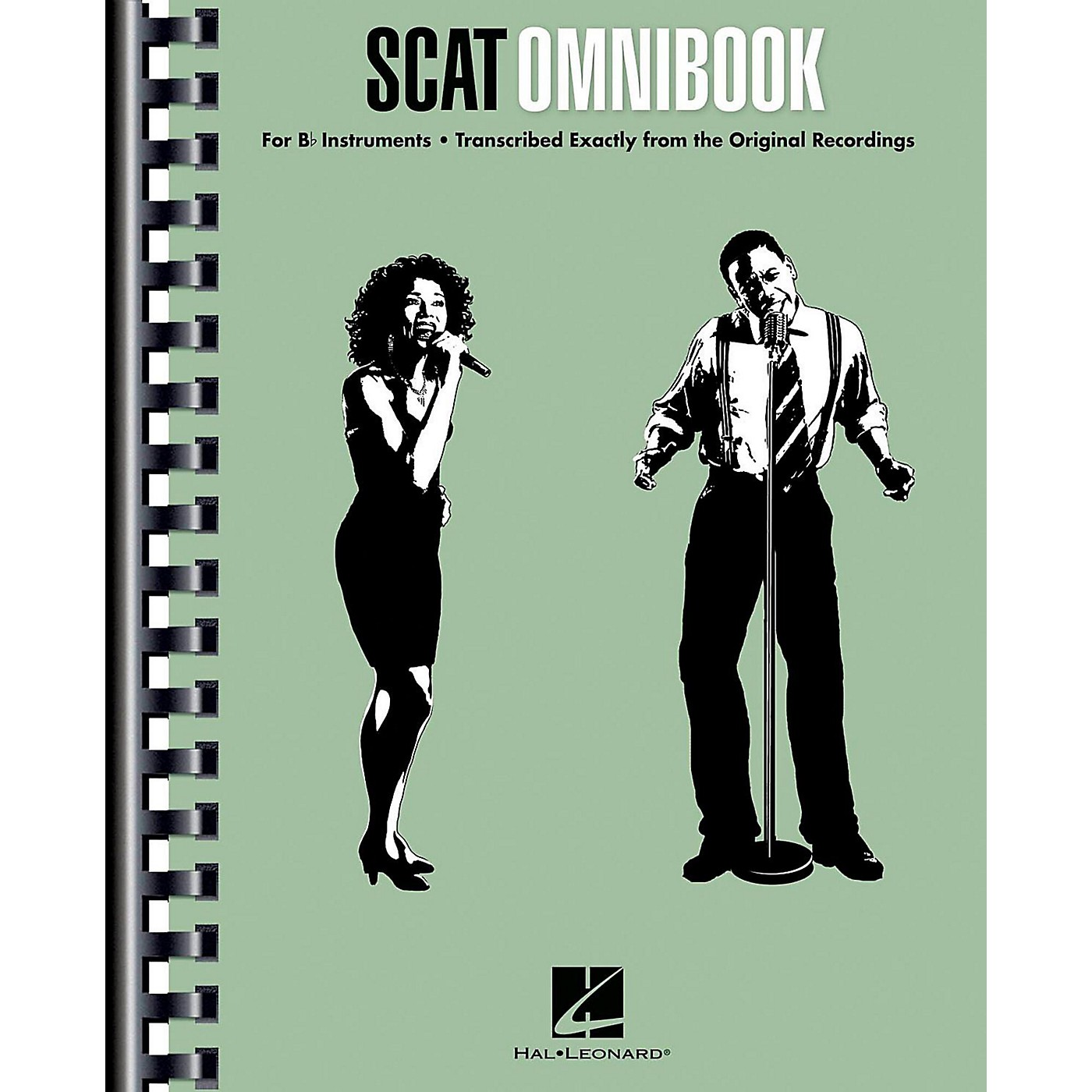 Hal Leonard Scat Omnibook for Vocalists and B-Flat Instruments thumbnail