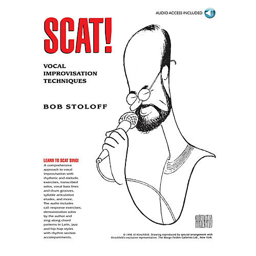 Music Sales Scat! Vocal Improvisation Techniques Music Sales America Series Softcover with CD thumbnail