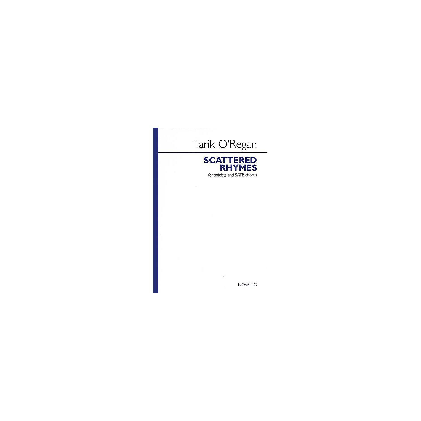 Novello Scattered Rhymes SATB Composed by Tarik O'Regan thumbnail