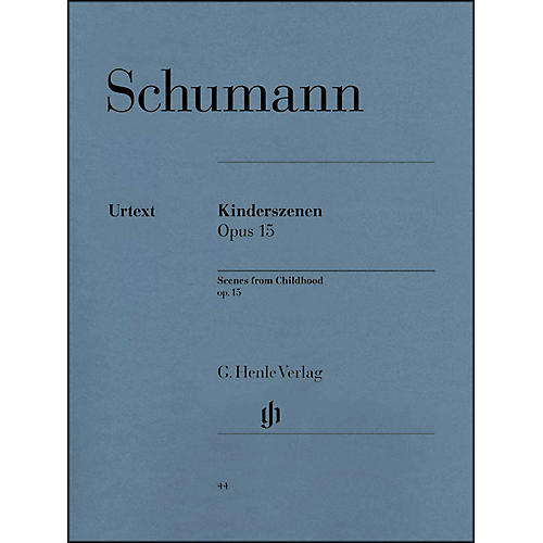 G. Henle Verlag Scenes From Childhood Op. 15 By Schumann-thumbnail