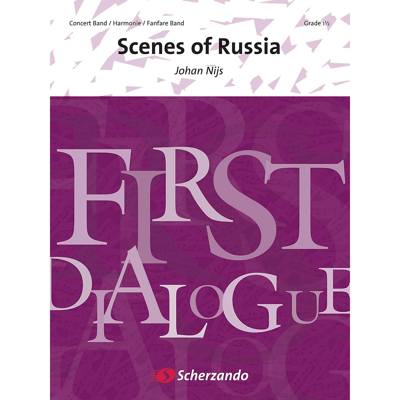 Scherzando Scenes of Russia Concert Band Level 2 Composed by Johan Nijs thumbnail
