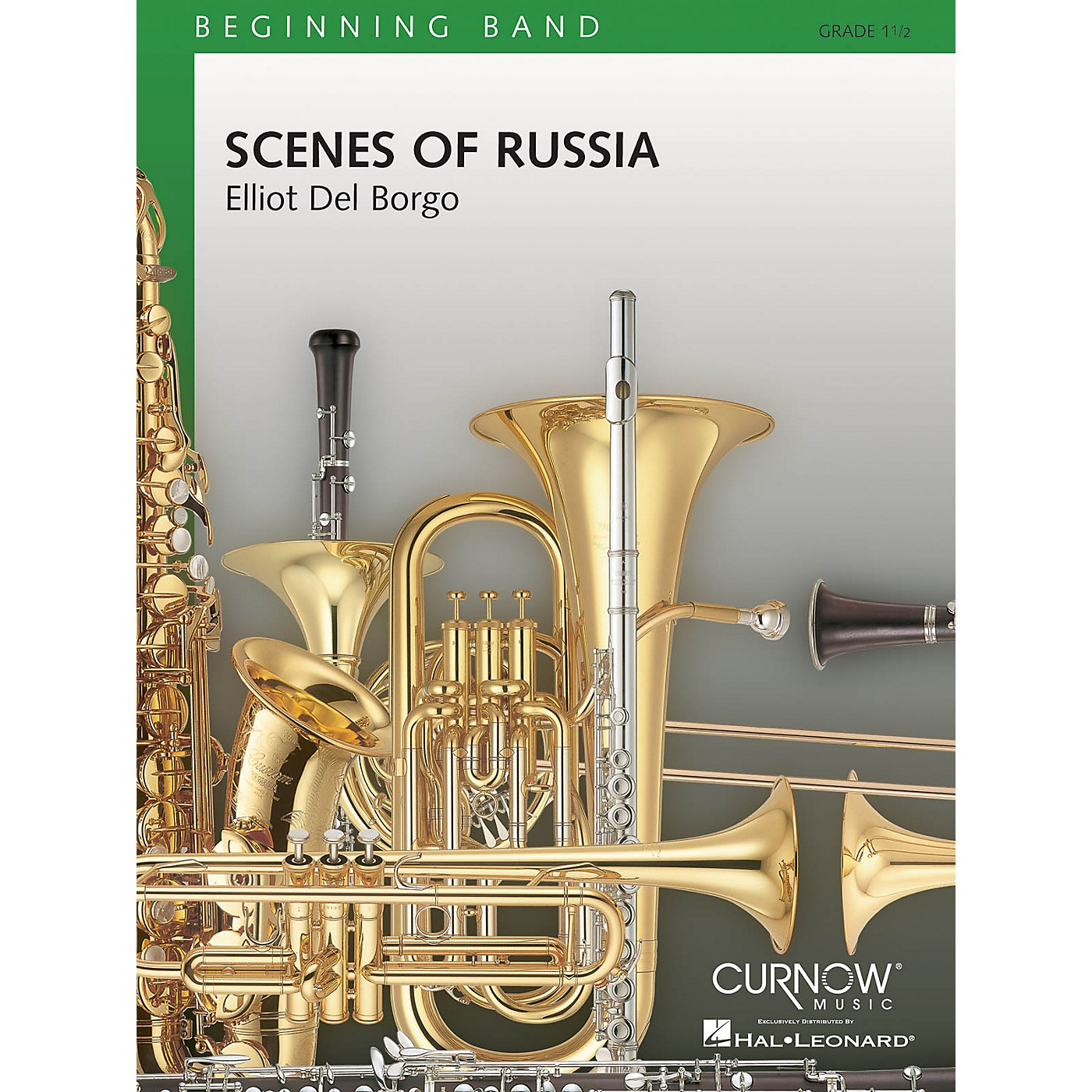 Curnow Music Scenes of Russia (Grade 1.5 - Score Only) Concert Band Level 1.5 Composed by Elliot Del Borgo thumbnail