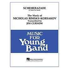Hal Leonard Scheherazade - Young Concert Band Level 3 by James Curnow