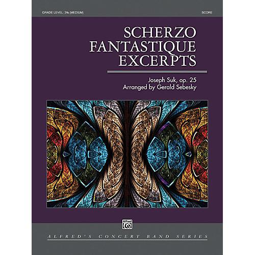 Alfred Scherzo Fantastique Excerpts Concert Band Grade 3.5 thumbnail