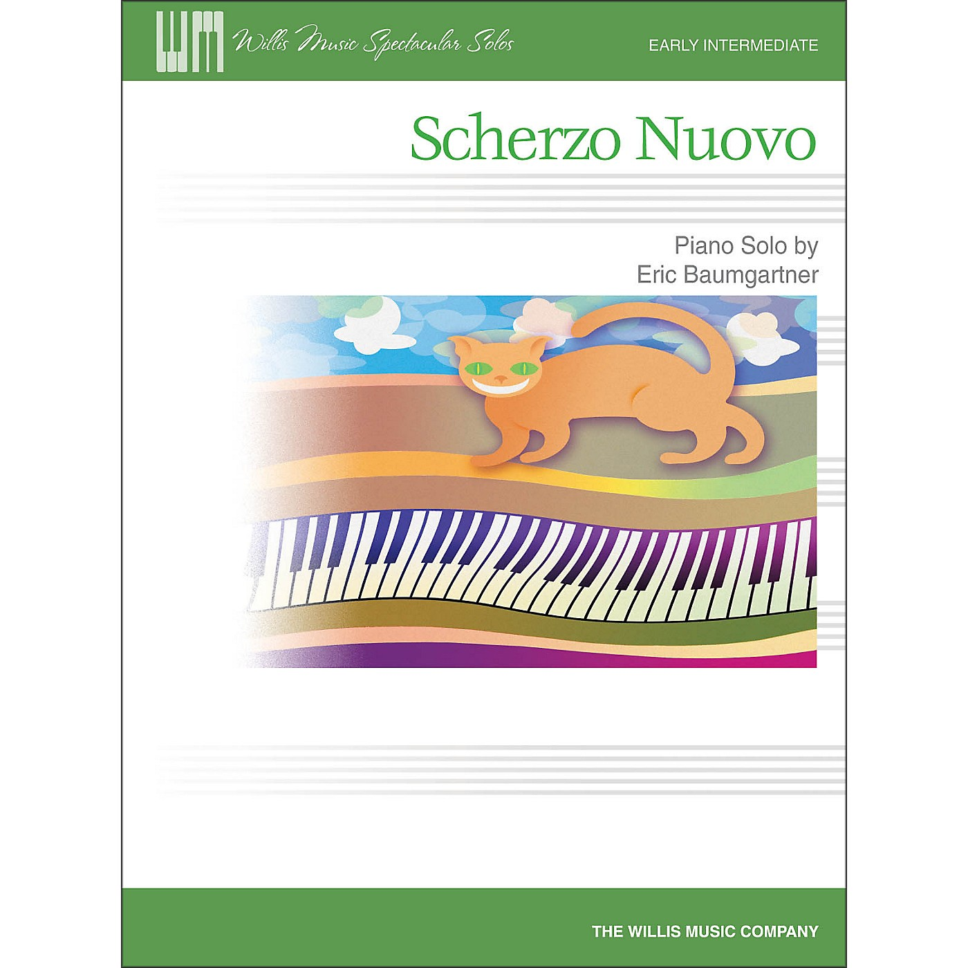 Willis Music Scherzo Nuovo - Early Intermediate Piano Solo Sheet thumbnail