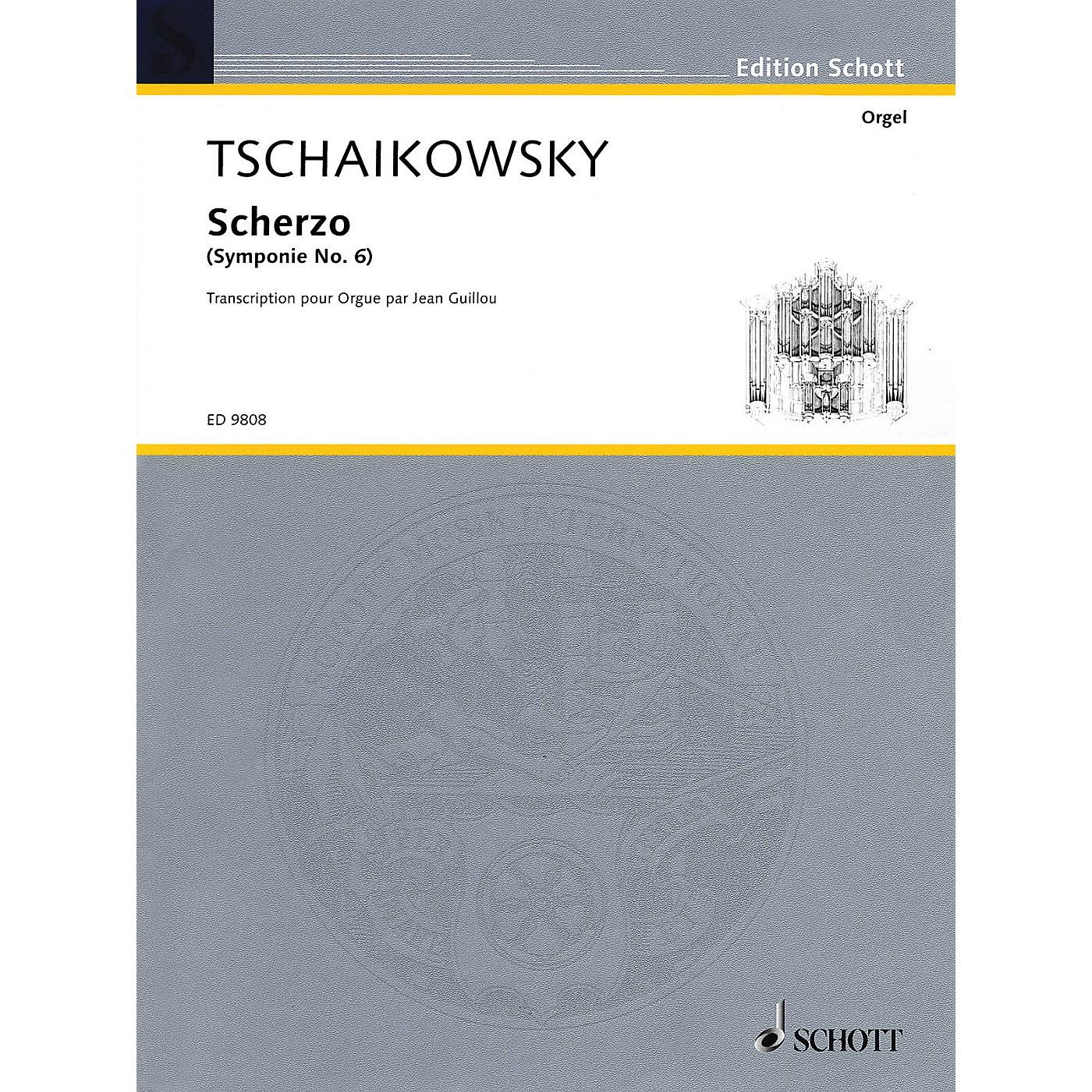 Schott Scherzo (Organ) Schott Series thumbnail