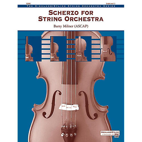 Alfred Scherzo for String Orchestra String Orchestra Grade 3 thumbnail