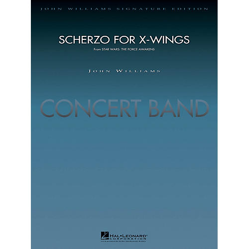 Hal Leonard Scherzo for X-Wings (from Star Wars: The Force Awakens) Concert Band Level 5 Arranged by Paul Lavender thumbnail