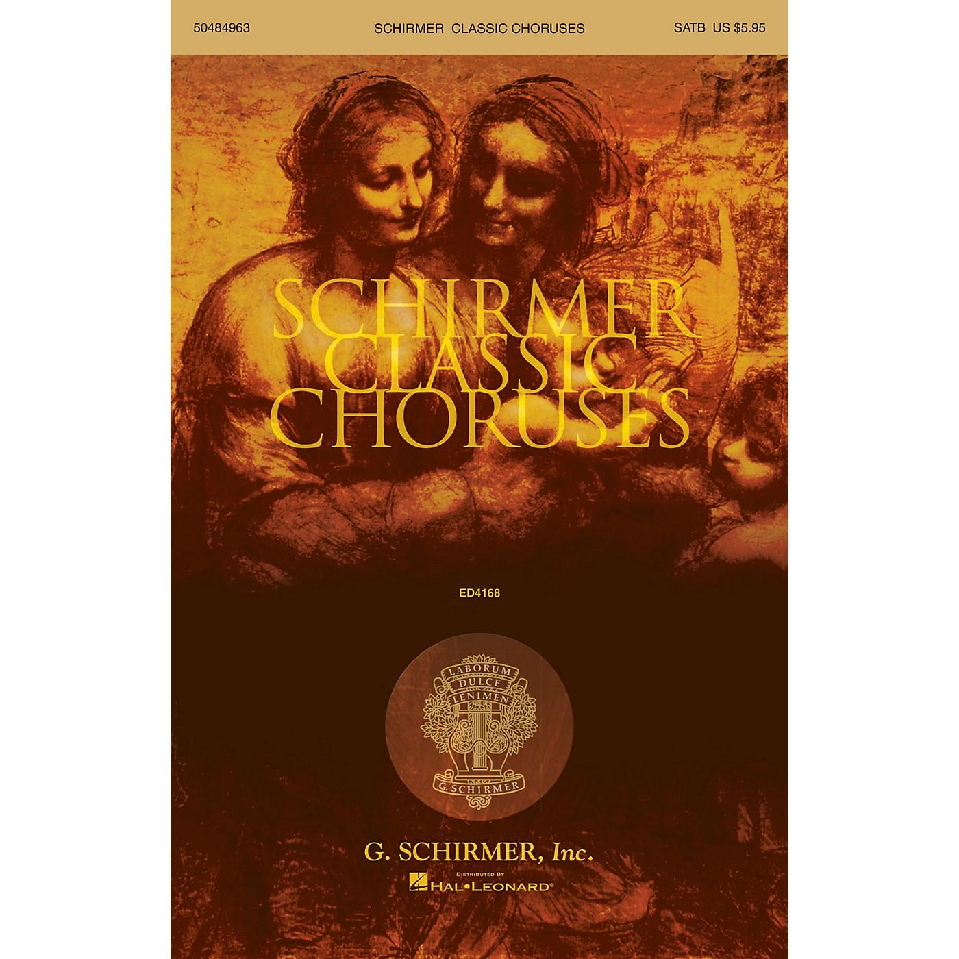 G. Schirmer Schirmer Classic Choruses (SATB collection) thumbnail