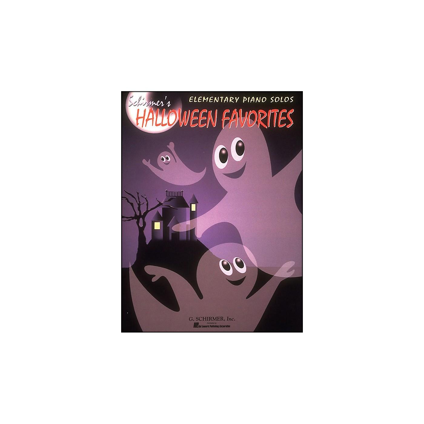 G. Schirmer Schirmer's Halloween Favorites Elementary Piano Solos thumbnail