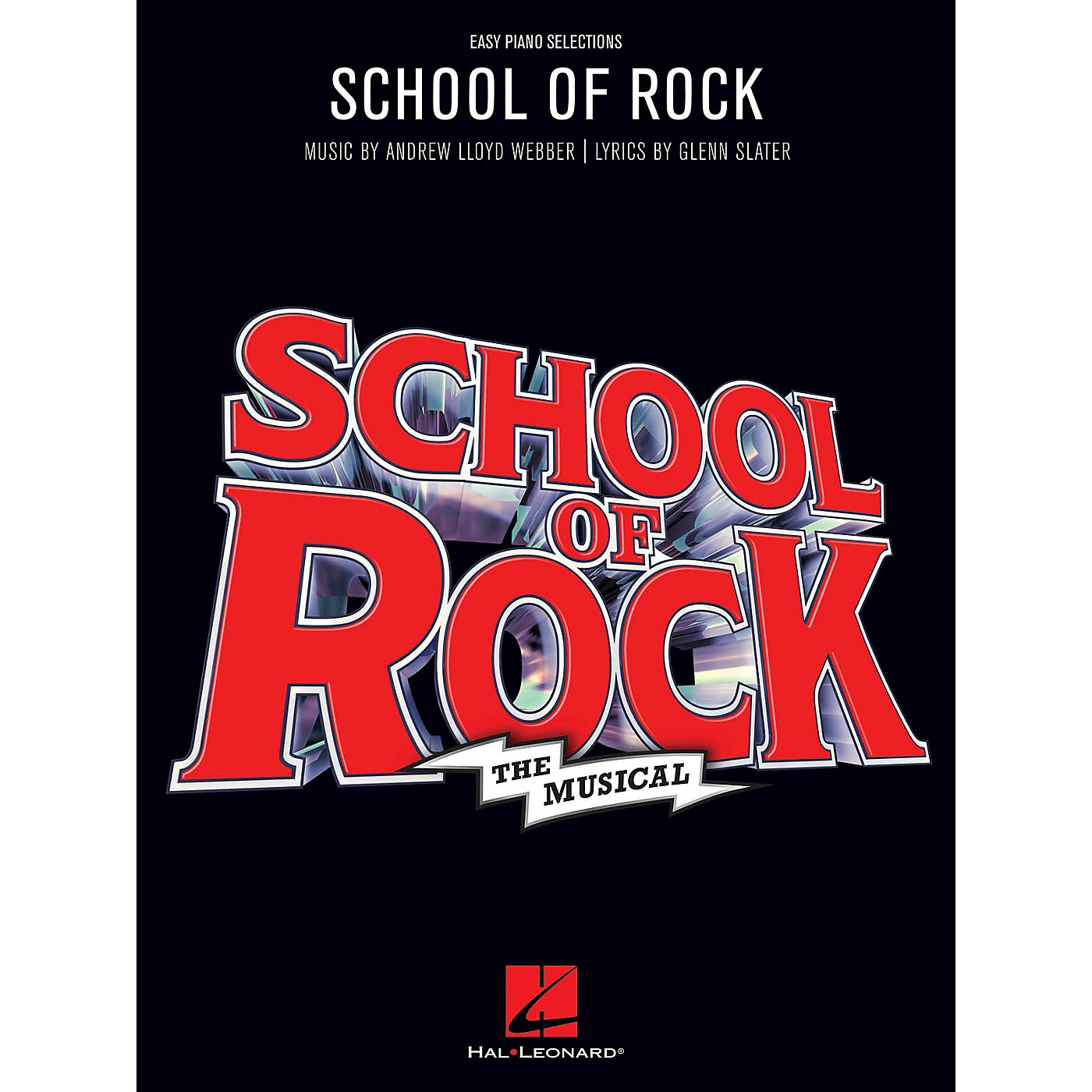 Hal Leonard School of Rock: The Musical Easy Piano Songbook thumbnail