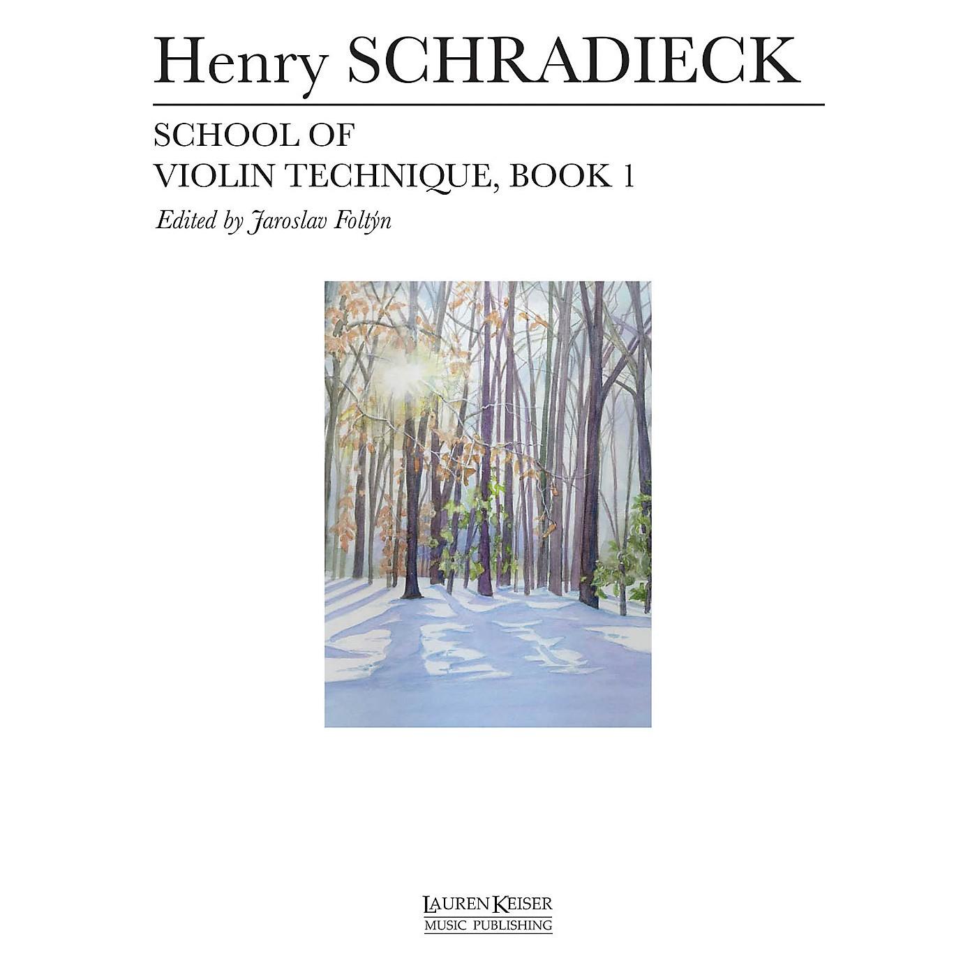 Lauren Keiser Music Publishing School of Violin Technique - Book 1 LKM Music Series thumbnail