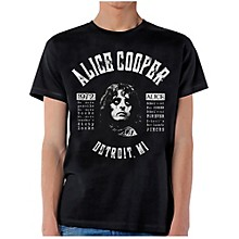 Alice Cooper School's Out Lyrics T-Shirt