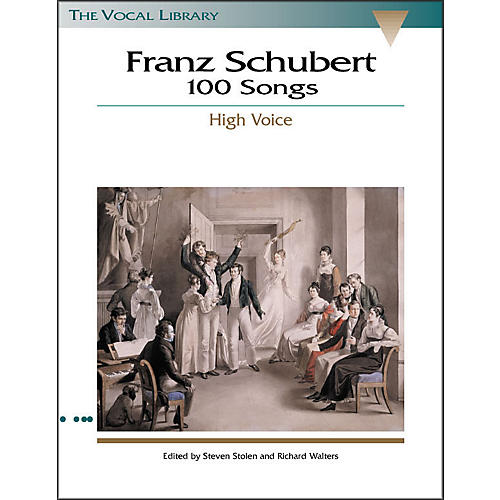 Hal Leonard Schubert - 100 Songs for High Voice (the Vocal Library Series) thumbnail