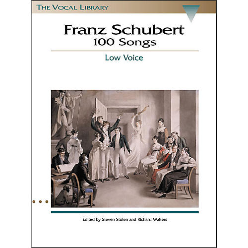 Hal Leonard Schubert - 100 Songs for Low Voice (The Vocal Library Series) thumbnail