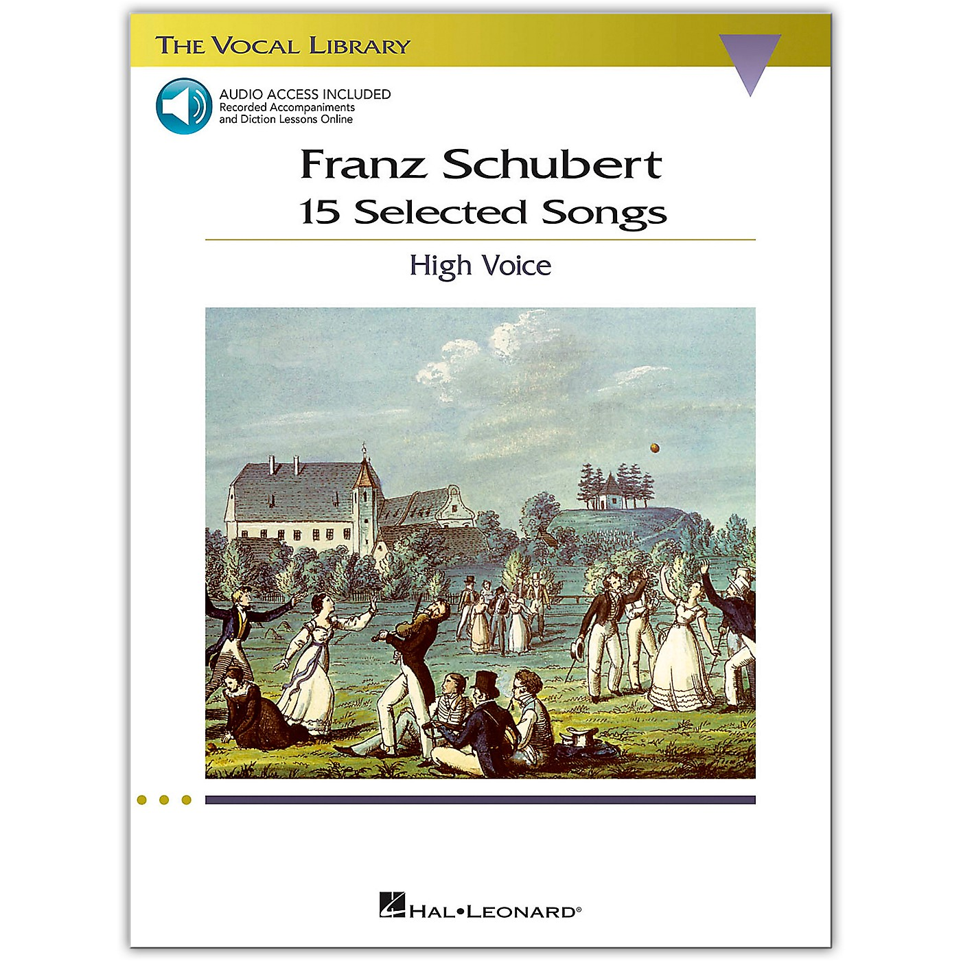Hal Leonard Schubert: 15 Selected Songs for High Voice Book/Online Audio thumbnail