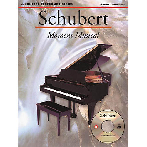 Music Sales Schubert: Moment Musical (Concert Performer Series) Music Sales America Series Softcover with disk thumbnail