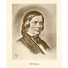 Music Sales Schumann (Lupas Large Portrait Poster) Music Sales America Series