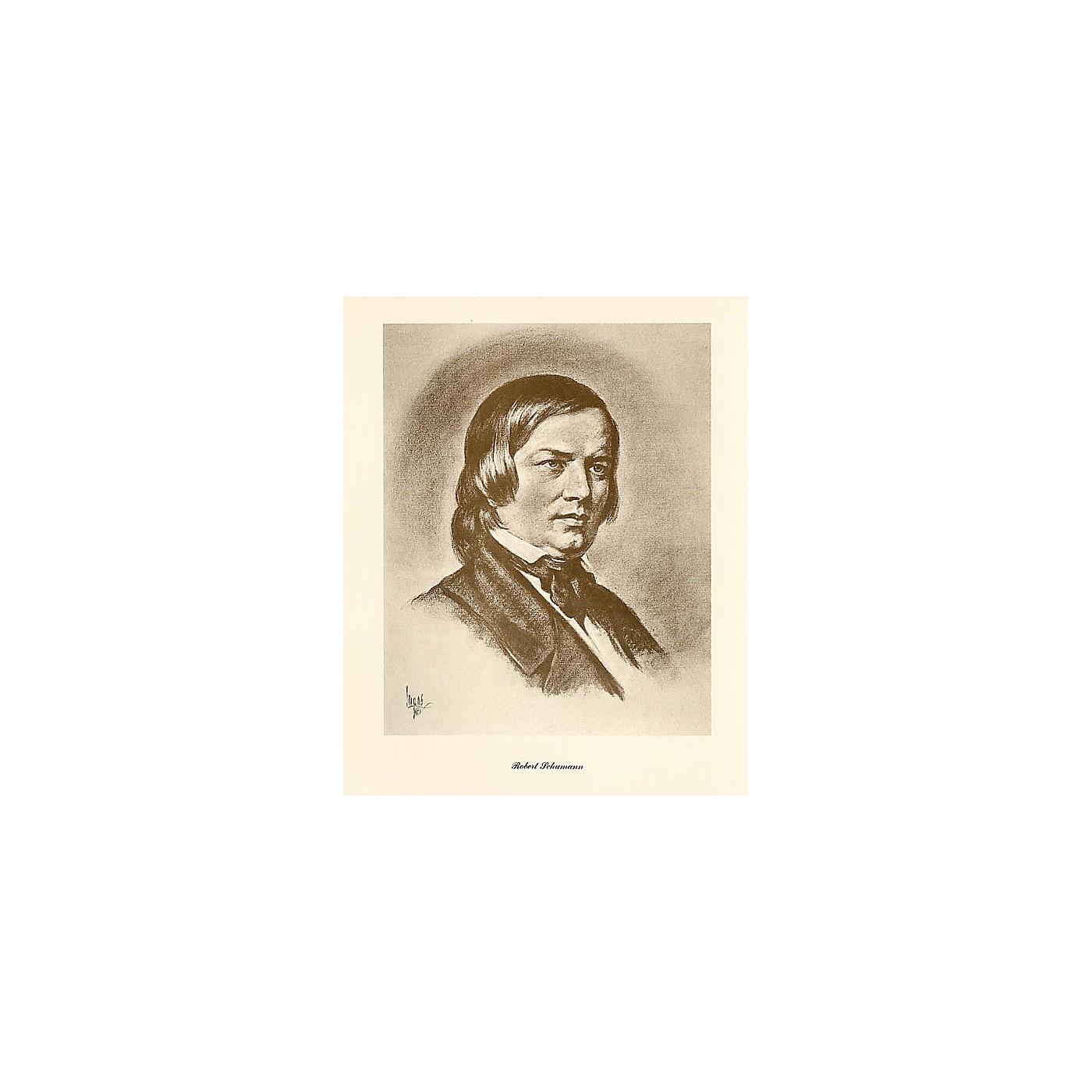 Music Sales Schumann (Lupas Small Portrait Poster) Music Sales America Series thumbnail