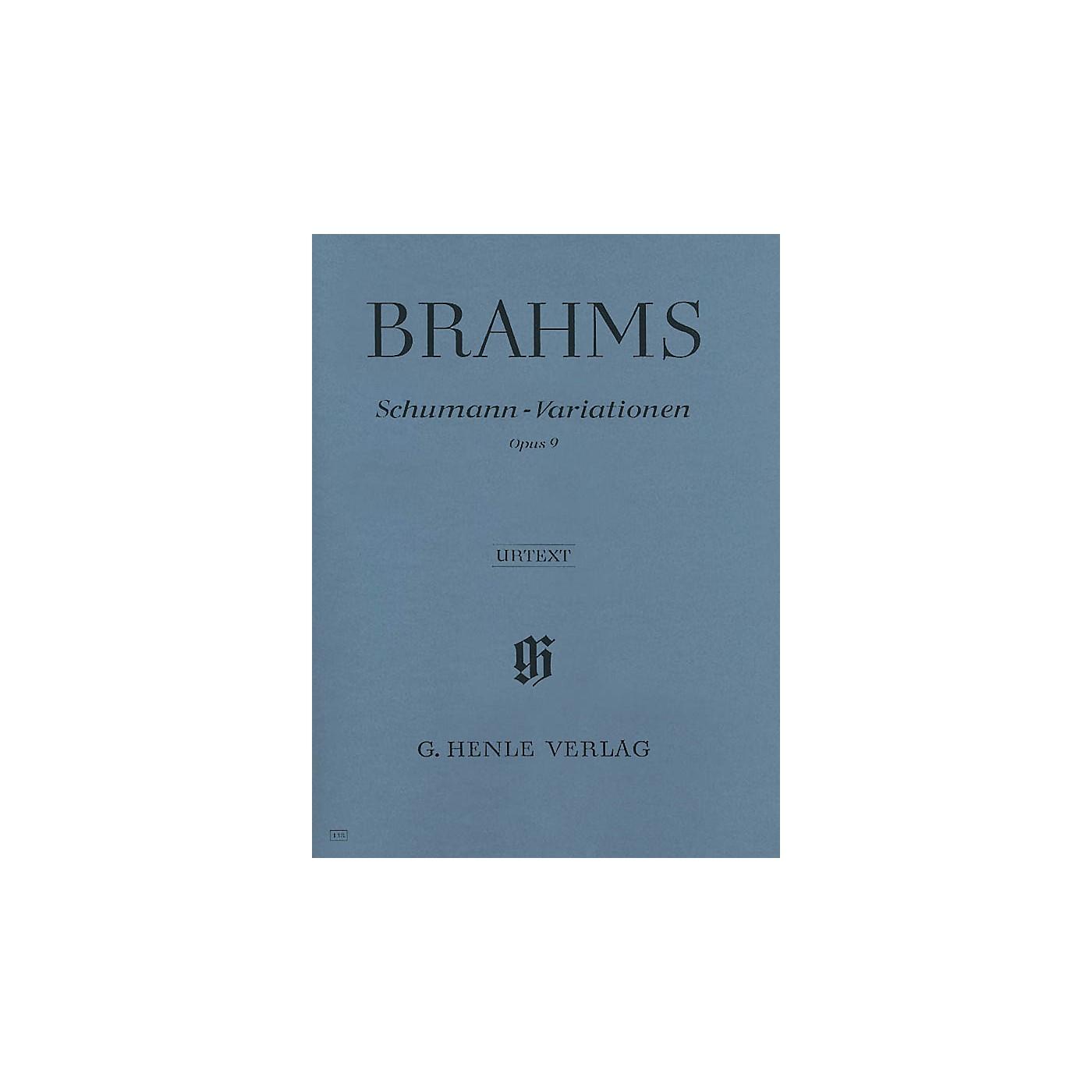 G. Henle Verlag Schumann-Variations Op. 9 thumbnail