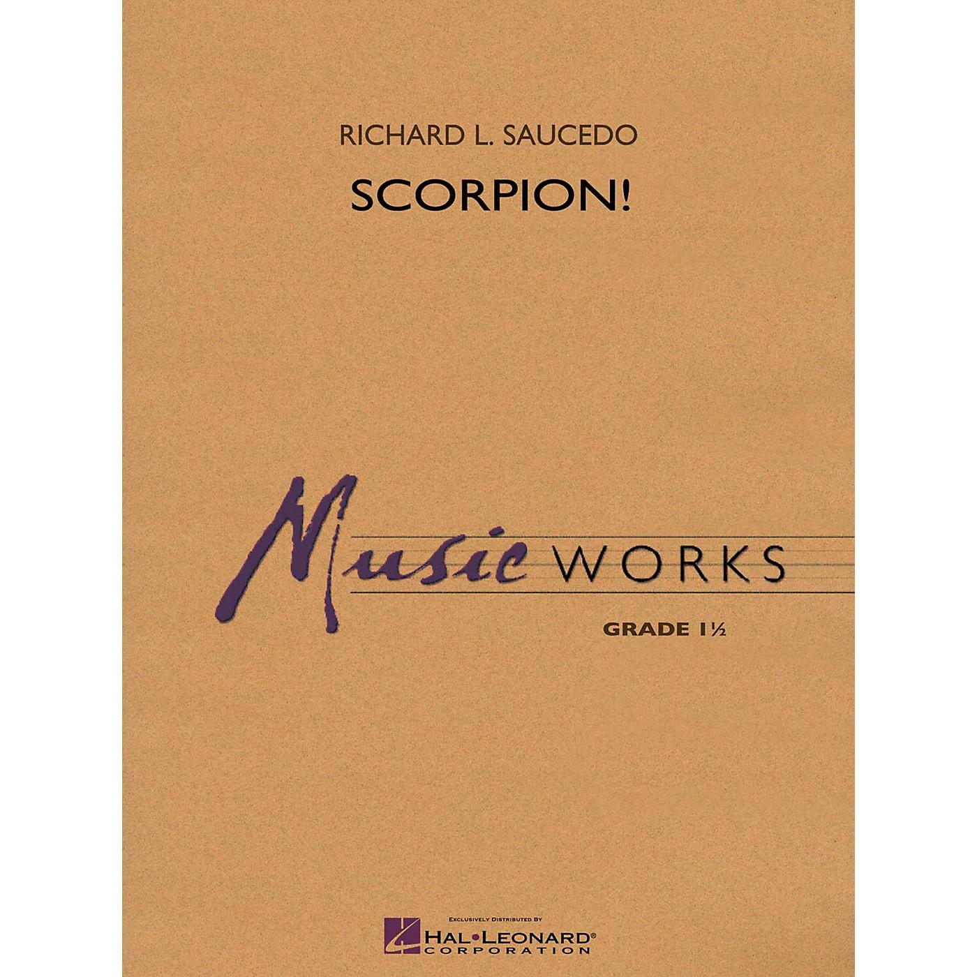 Hal Leonard Scorpion! - MusicWorks Concert Band Grade 1 thumbnail