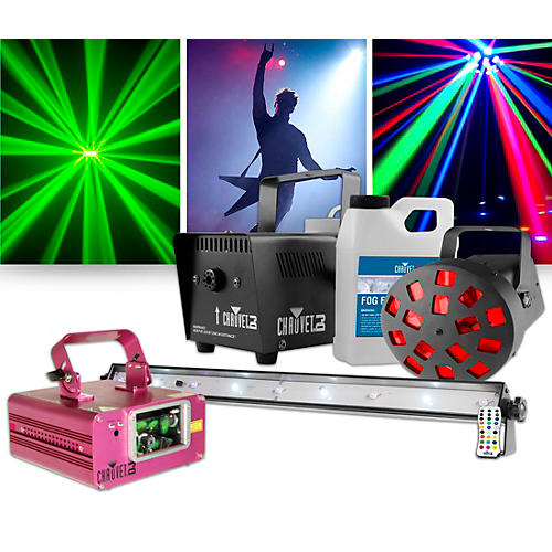CHAUVET DJ Scorpion Dual Laser Restock with JAM Pack Diamond Lighting Package thumbnail