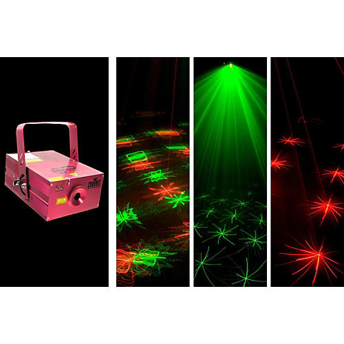 CHAUVET DJ Scorpion Storm FX Red and Green Laser Effect Light thumbnail