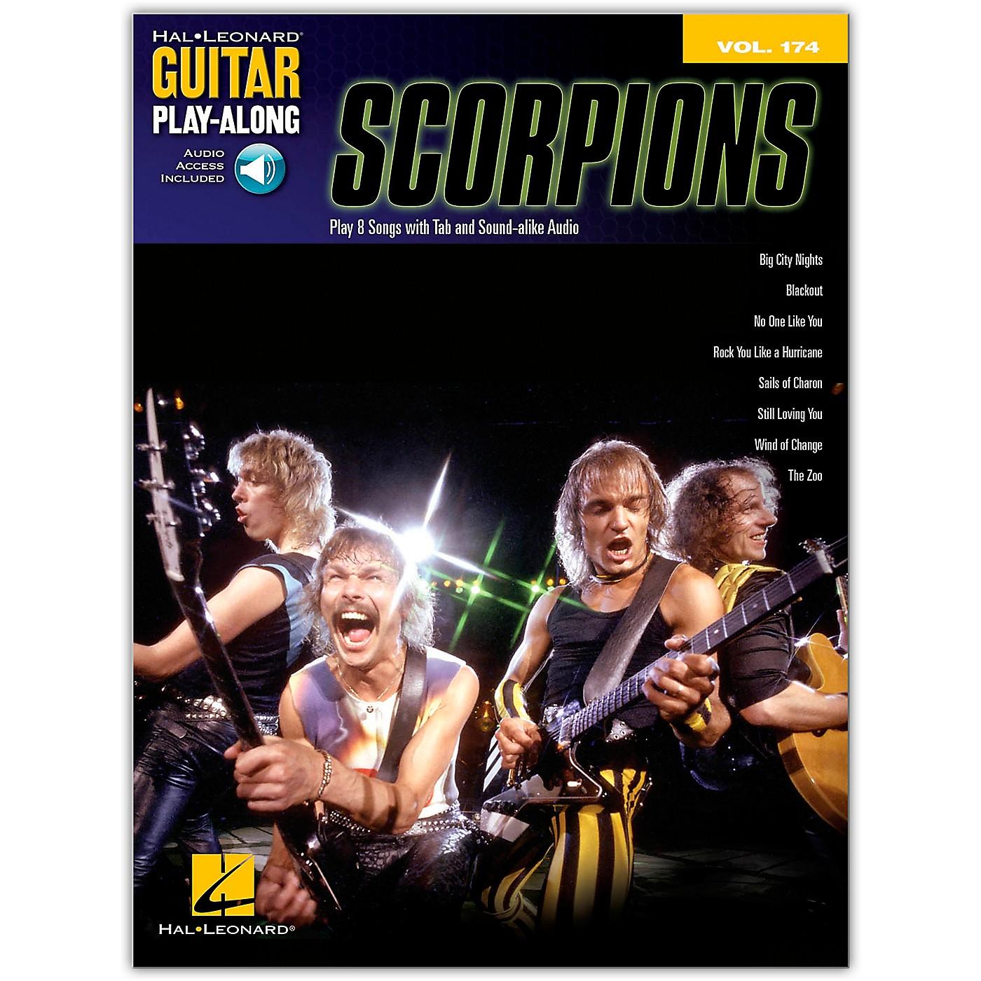 Hal Leonard Scorpions - Guitar Play-Along Vol. 174 Book/Online Audio thumbnail