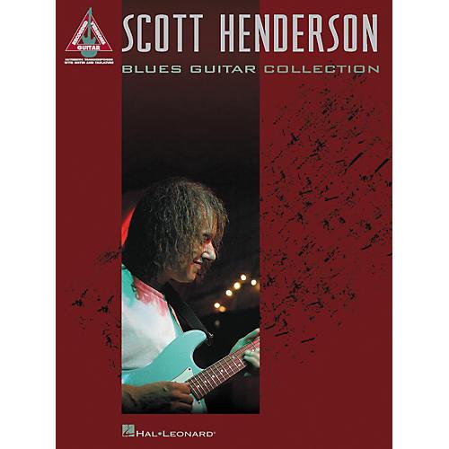 Hal Leonard Scott Henderson Blues Guitar Collection Guitar Tab Songbook thumbnail