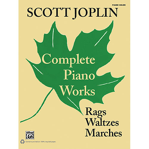 Alfred Scott Joplin - Complete Piano Works Early Advanced Piano Collection thumbnail