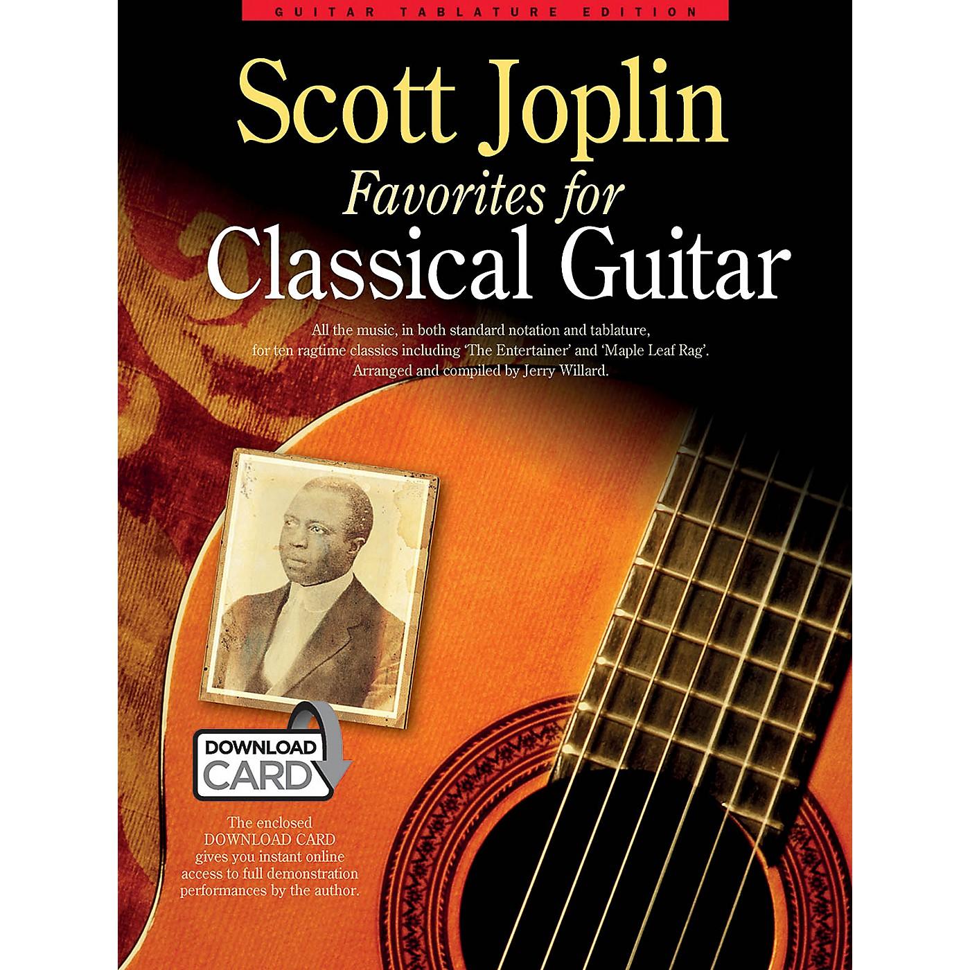 Music Sales Scott Joplin Favorites for Classical Guitar Guitar Series Softcover Audio Online thumbnail