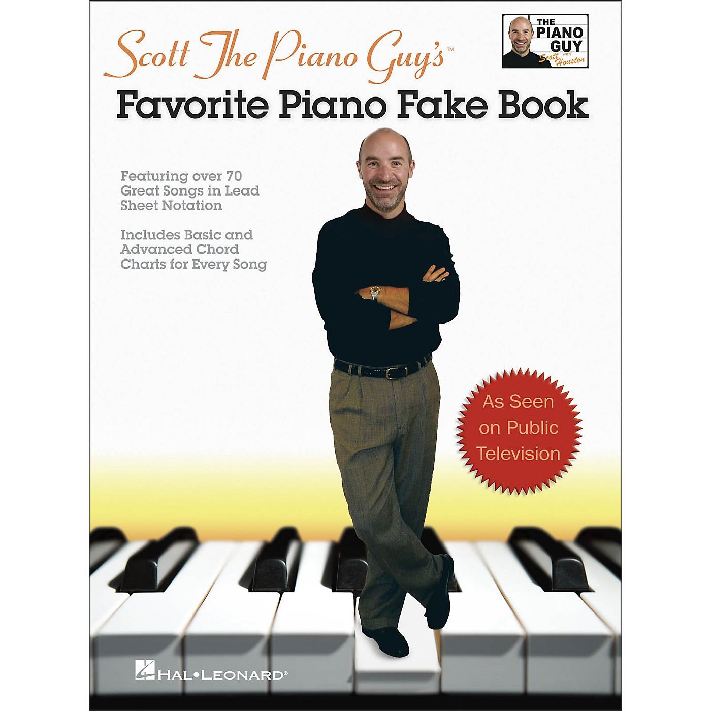 Hal Leonard Scott The Piano Guy's Favorite Piano Fake Book thumbnail