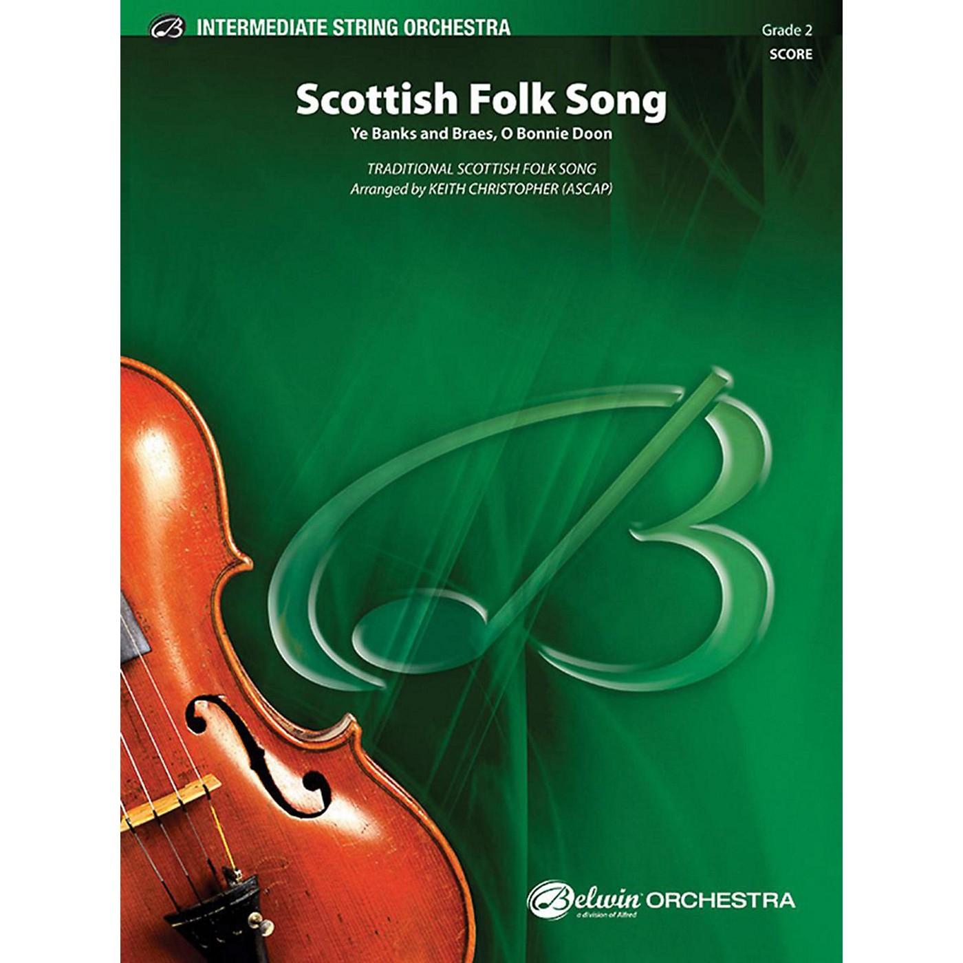Alfred Scottish Folk Song String Orchestra Grade 2 thumbnail