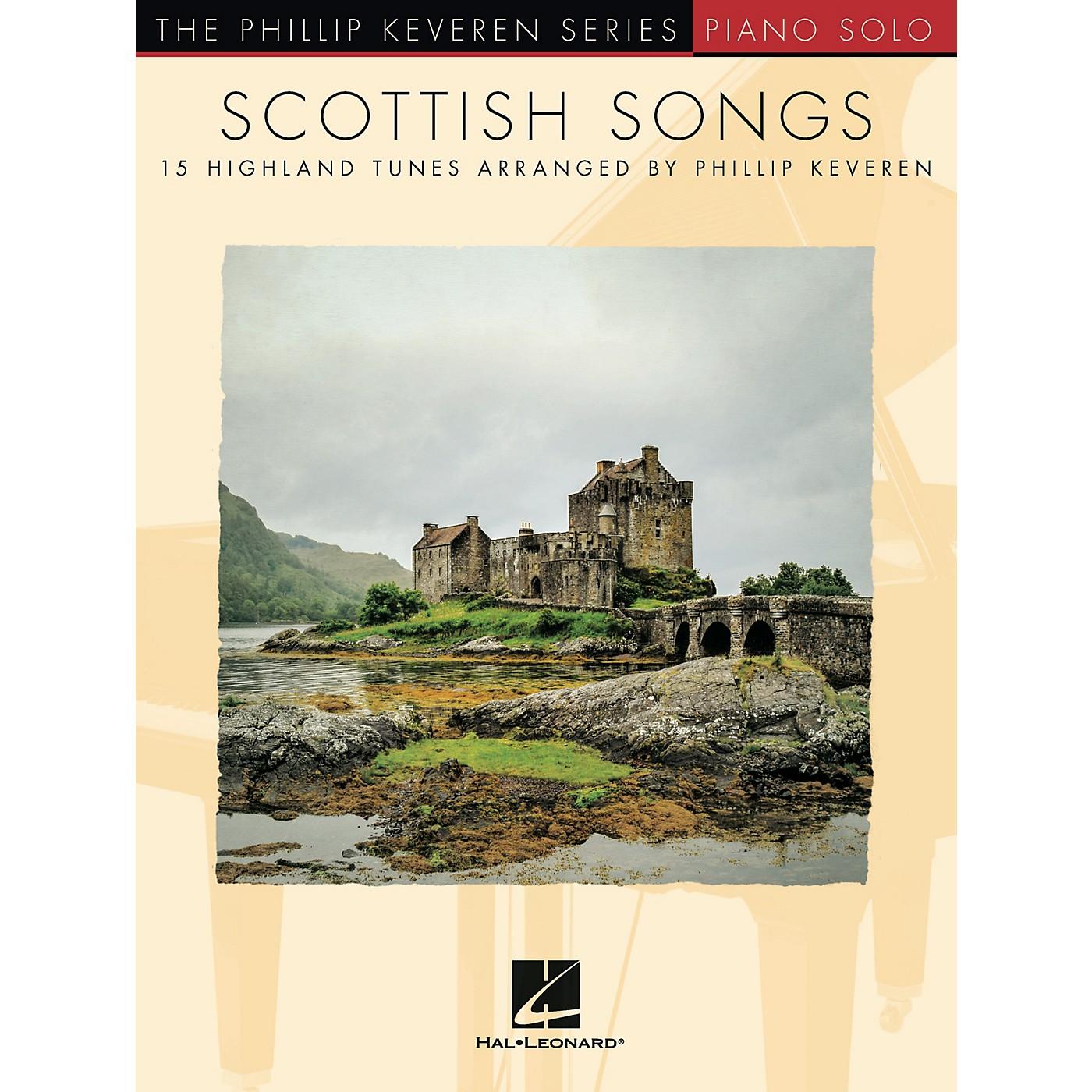 Hal Leonard Scottish Songs (15 Highland Tunes) Piano Solo Songbook thumbnail