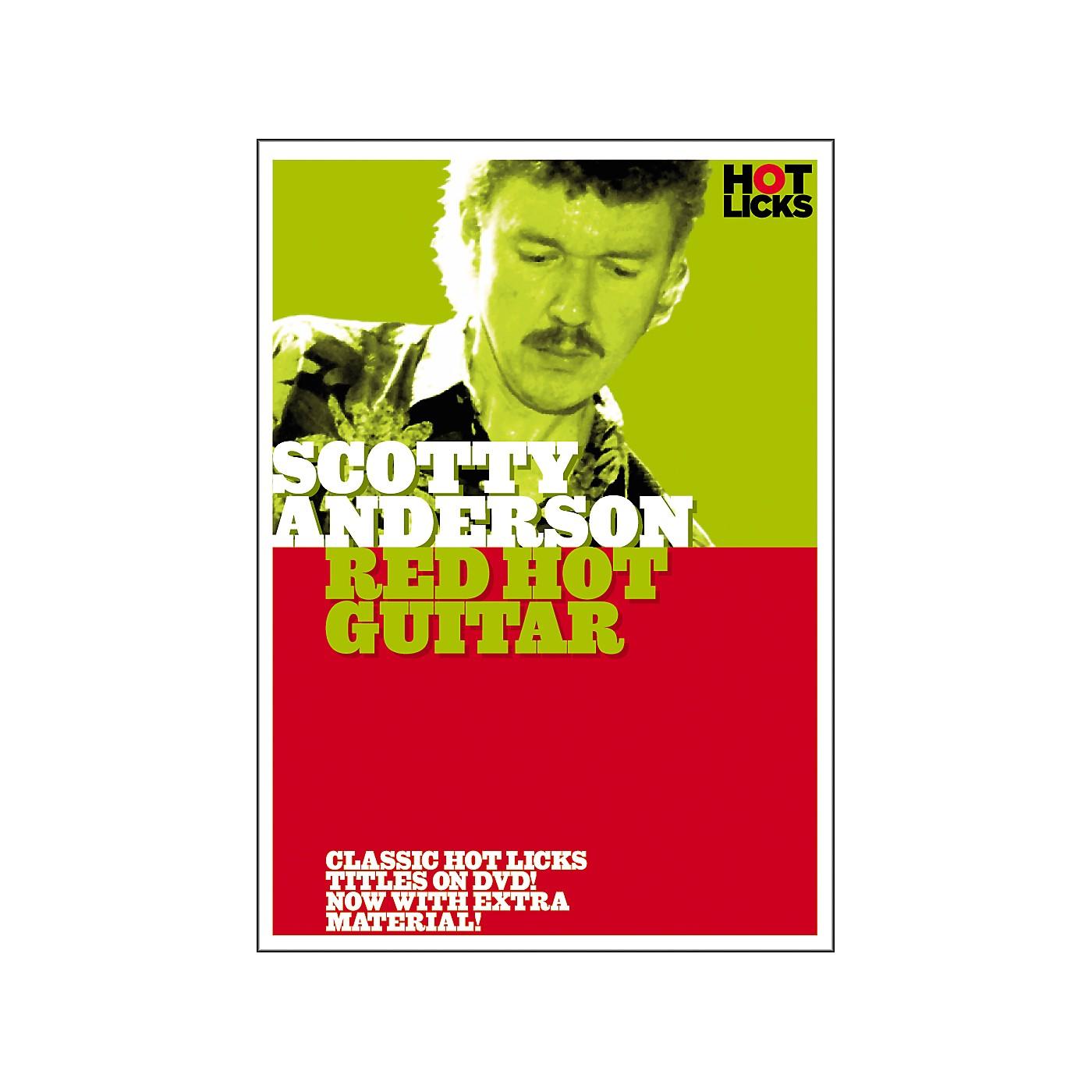 Hot Licks Scotty Anderson: Red Hot Guitar DVD thumbnail