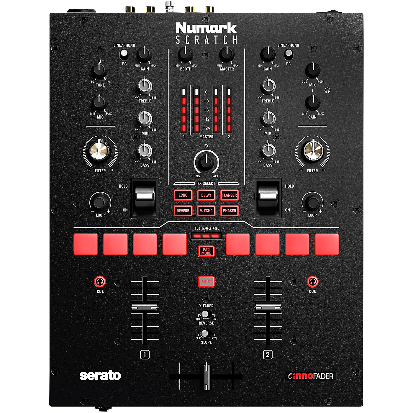 Numark Scratch 2-Channel DJ Mixer for Serato DJ Pro thumbnail