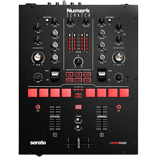 Numark Scratch 2-Channel DJ Mixer for Serato DJ Pro thumbnail