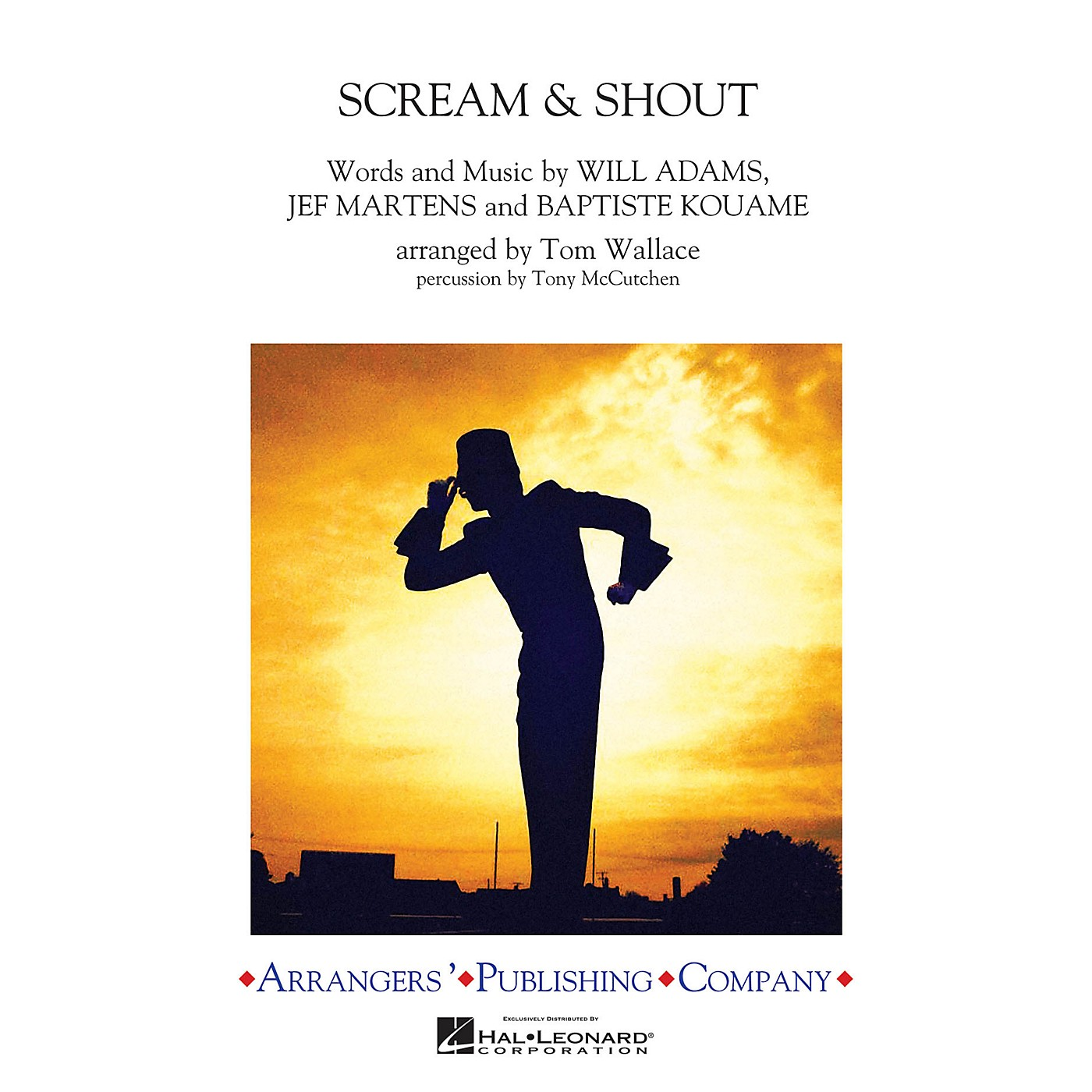 Arrangers Scream & Shout Marching Band Level 3 by will.i.am Arranged by Tom Wallace thumbnail