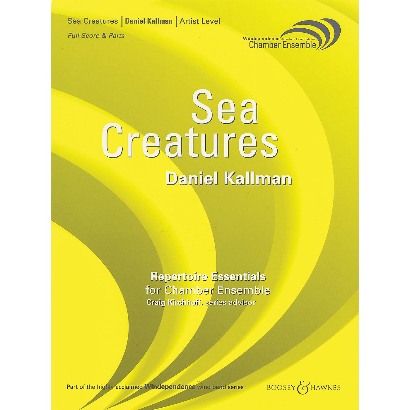 Boosey and Hawkes Sea Creatures Windependence Chamber Ensemble Series Composed by Daniel Kallman thumbnail
