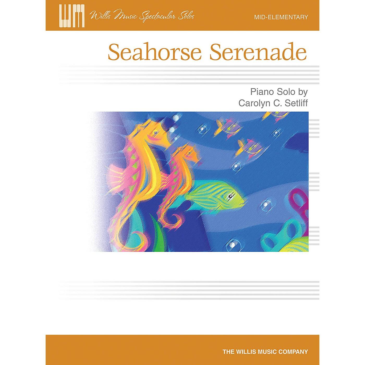 Willis Music Seahorse Serenade (Mid-Elem Level) Willis Series by Carolyn C. Setliff thumbnail