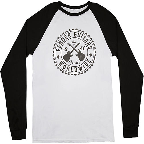 Fender Seal Raglan - White thumbnail