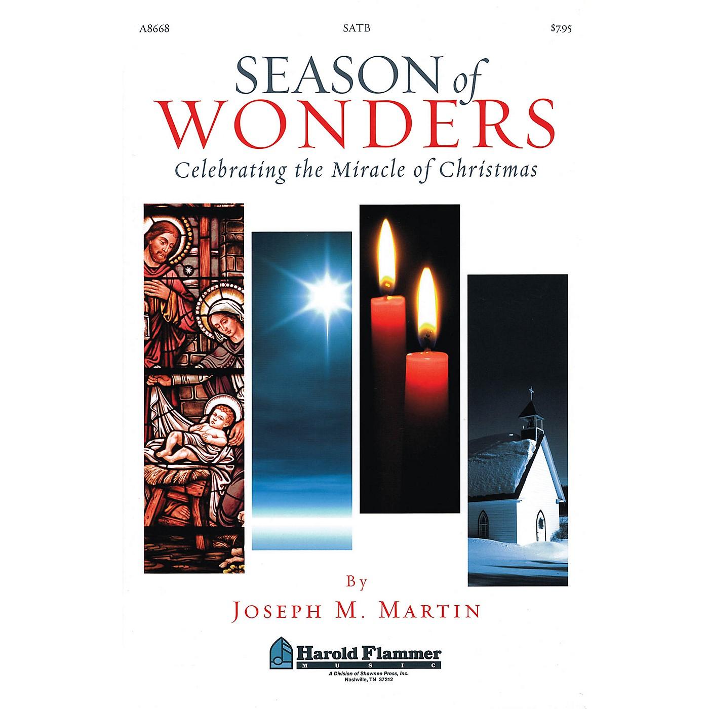 Shawnee Press Season of Wonders (Celebrating the Miracle of Christmas) SATB composed by Joseph M. Martin thumbnail