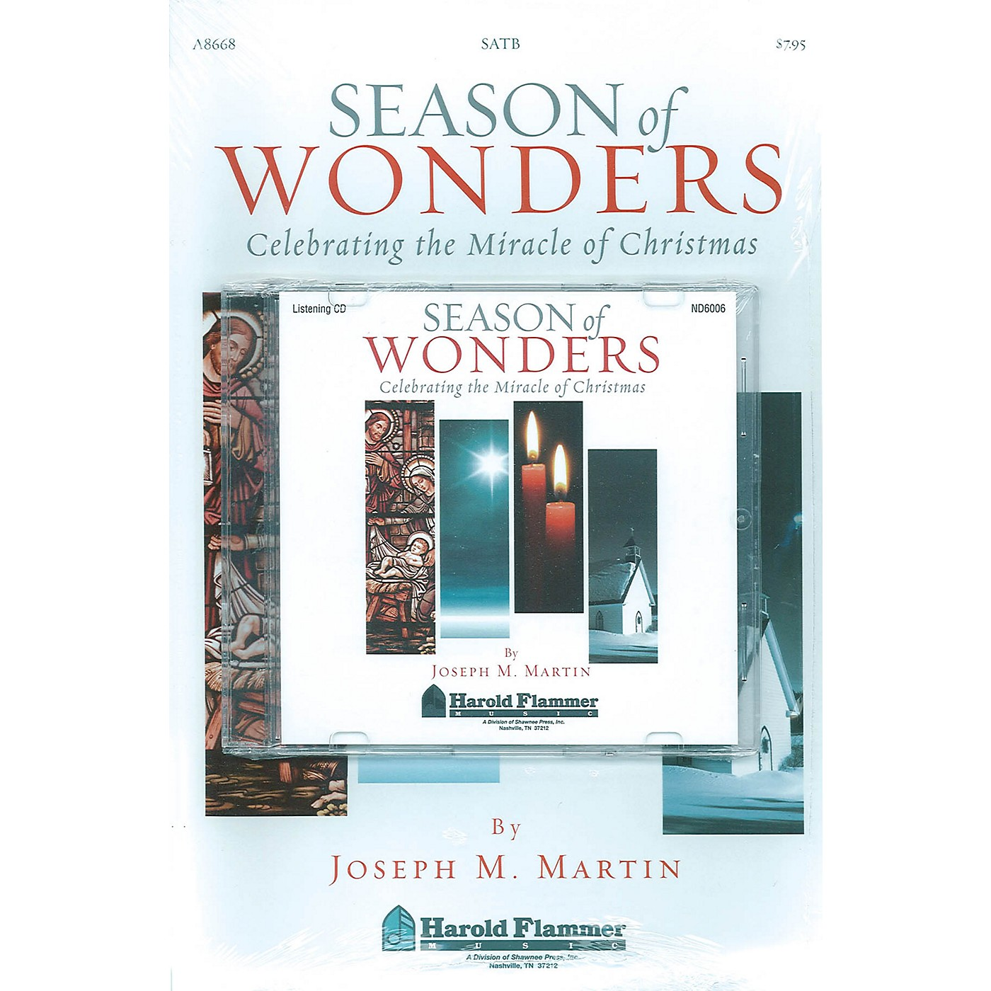 Shawnee Press Season of Wonders (Preview Pak (Book/CD)) Preview Pak composed by Joseph M. Martin thumbnail