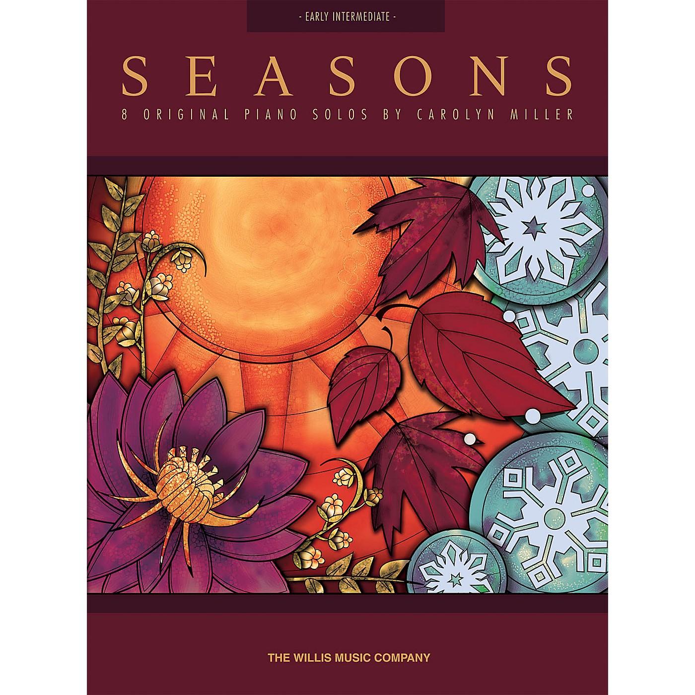 Willis Music Seasons (Early Inter Level) Willis Series Book by Carolyn Miller thumbnail