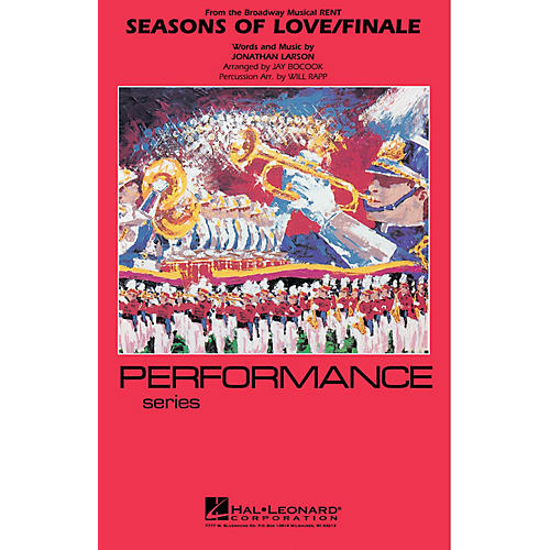 Hal Leonard Seasons of Love/Finale (from RENT) Marching Band Level 4 Arranged by Jay Bocook thumbnail