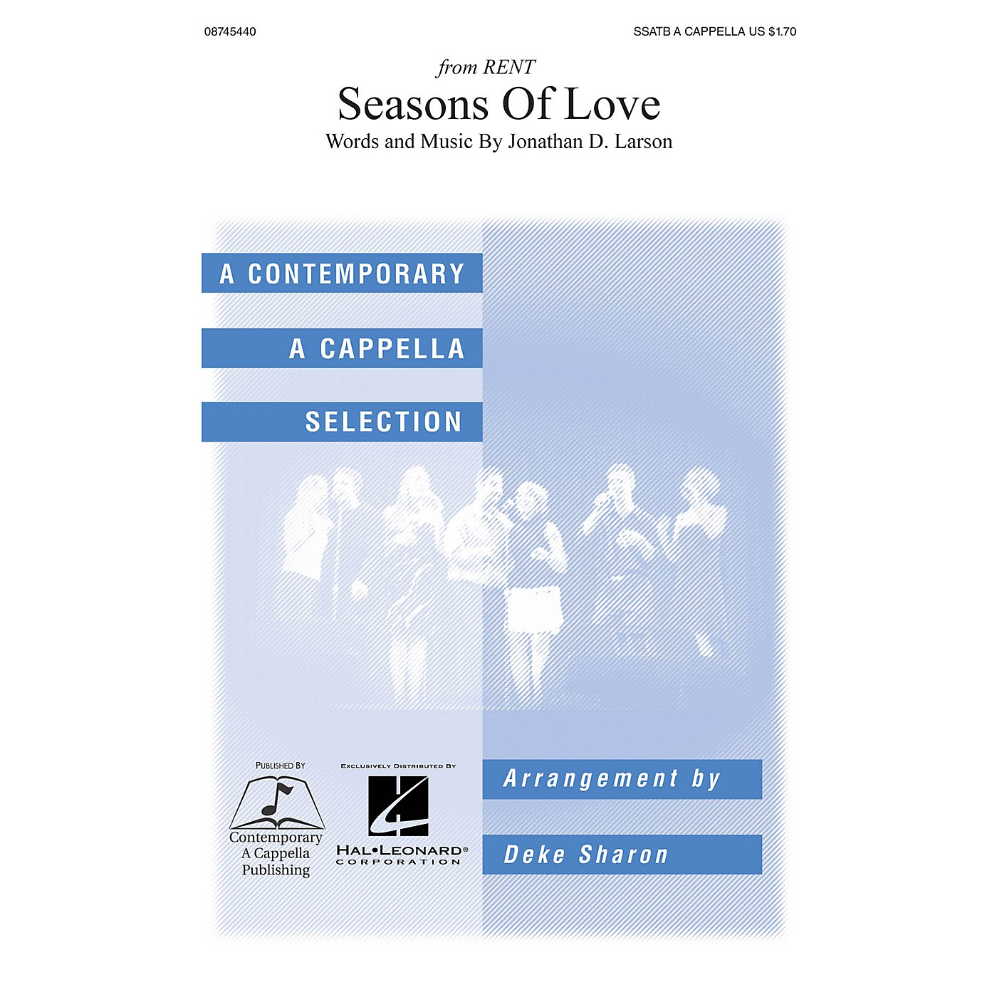 Hal Leonard Seasons of Love SSATB A Cappella arranged by Deke Sharon and Anne Raugh thumbnail